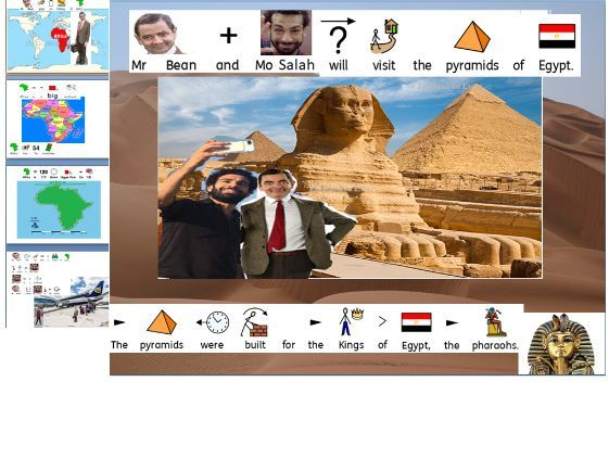 Mr. Bean goes to Africa -SEN made up Story  with 8 differentiated activities for all