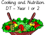 Cooking and Nutrition, Amazing Salads year 1 or year 2