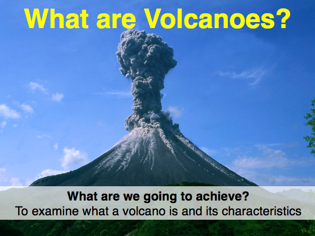 IGCSE Edexcel Geography - Hazardous Environments - What are volcanoes?
