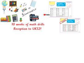 Big maths learn it s ppts  R to Y6