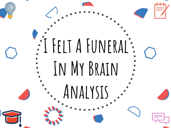 I Felt A Funeral in My Brain #Analysis #Dickinson #Poetry #Gothic #GCSE