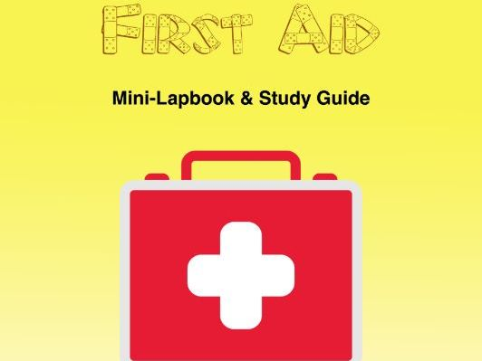First Aid Mini-Lapbook With Study Guide