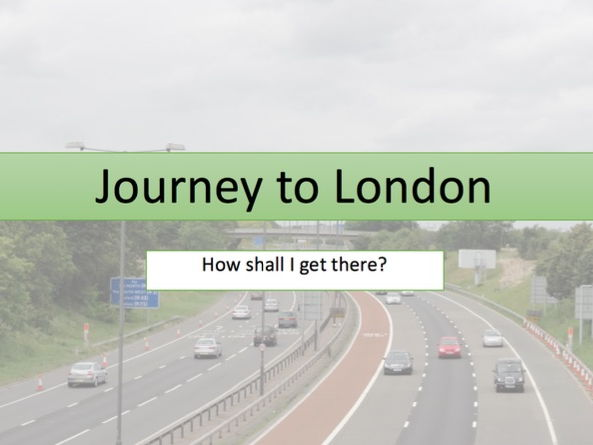 Planning a journey - Speed calculations