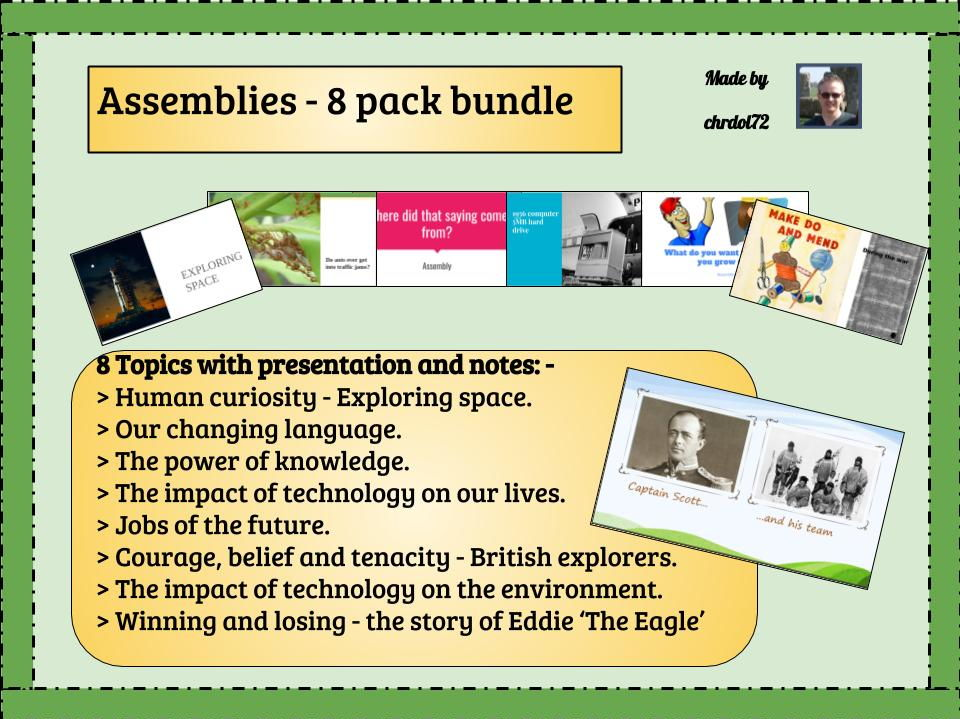 Assembly bundle (8 pack)