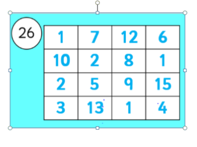 Number Grids - Pack B