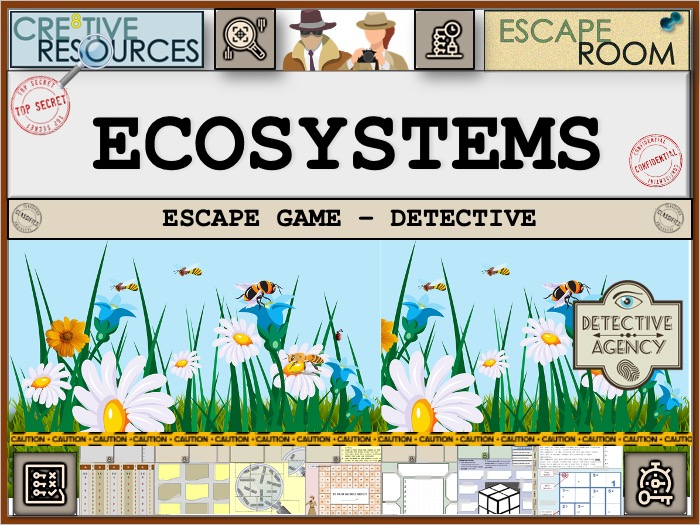 Ecosystems - Geography Escape Room