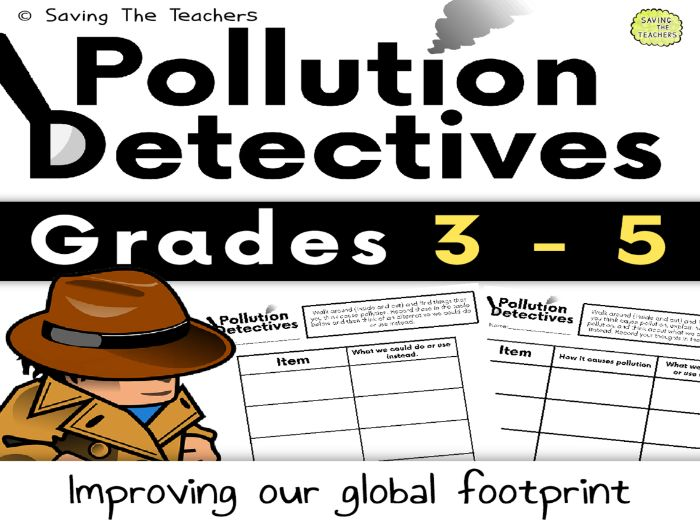 Pollution Detectives - Sustainability
