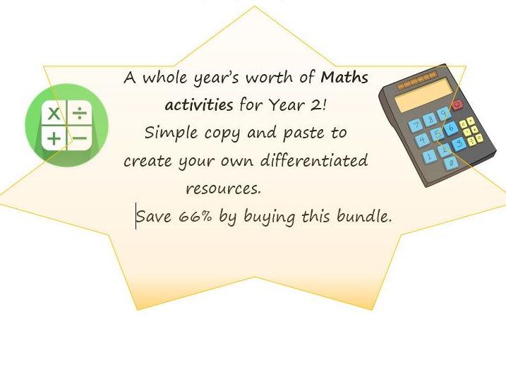 Maths Activity Bank Bundle - Whole Year 2