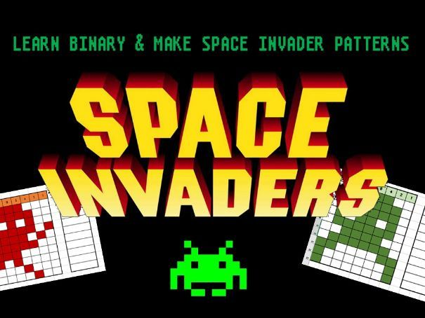 Binary - Space Invaders