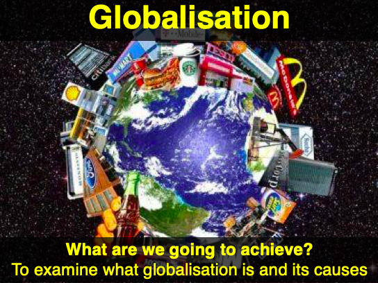 IGCSE Geography - Globalisation and TNCs