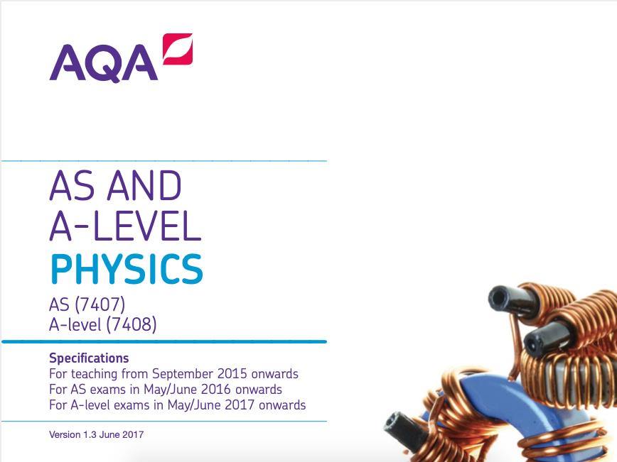 AQA Physics A Level; Work Sheets for Further Mechanics