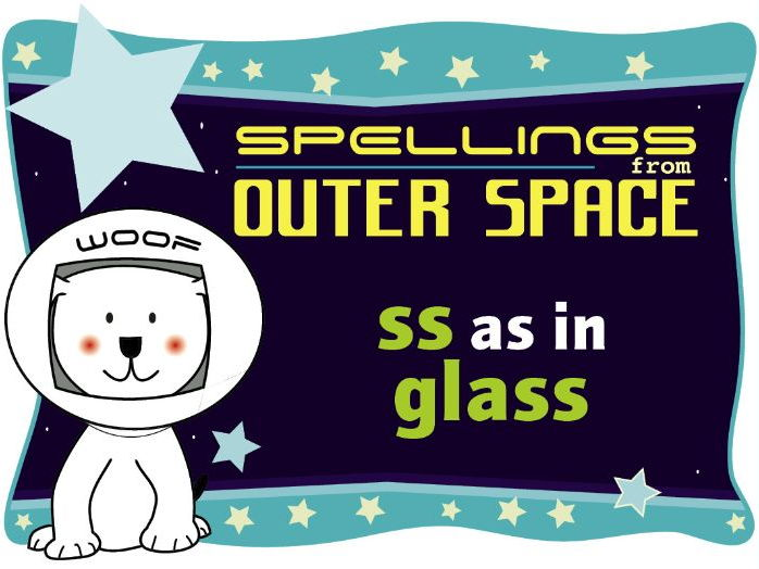 Year 1 Spellings from Outer Space: SS as in GLASS
