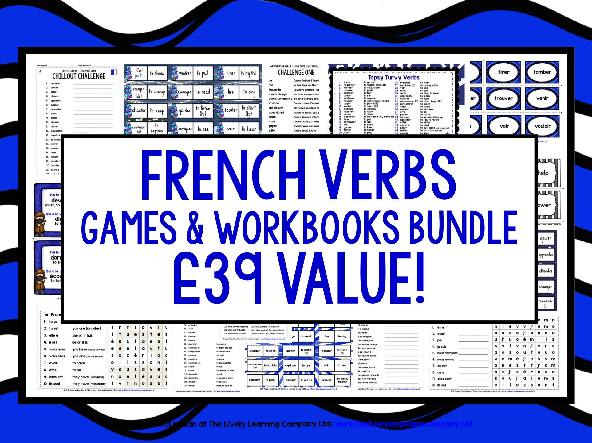 FRENCH VERBS BUNDLE (1)