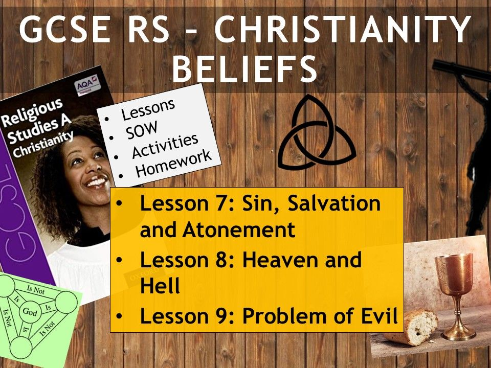 AQA GCSE RE RS - Christianity Beliefs - Lessons 7-9
