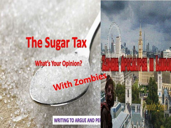 The Sugar Tax with Zombies!