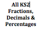 All KS2 Fractions, Decimals & Percentages