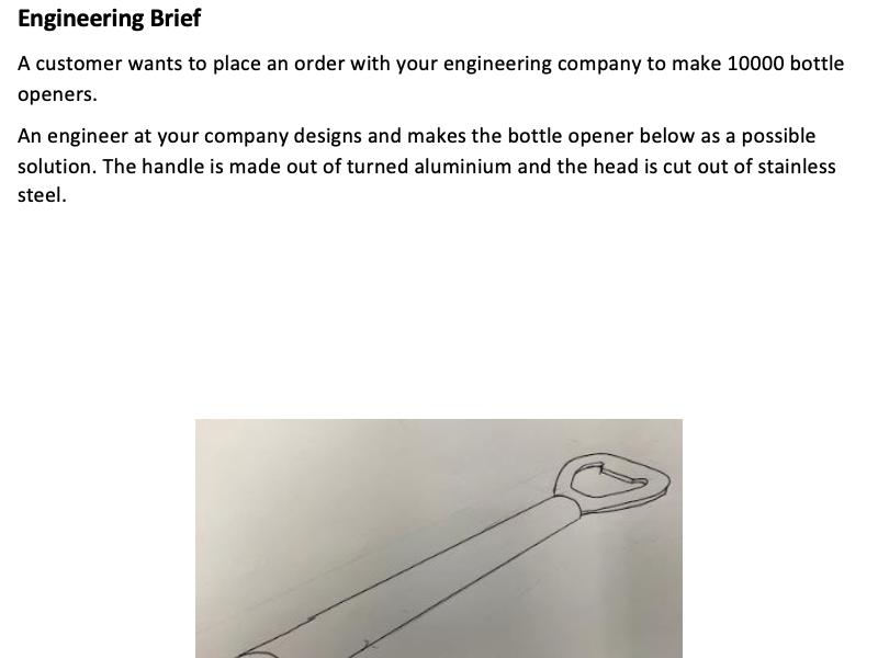 BTEC Engineering Tech Award Mock Exam