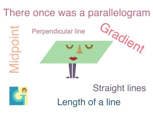 There once was a parallelogram...