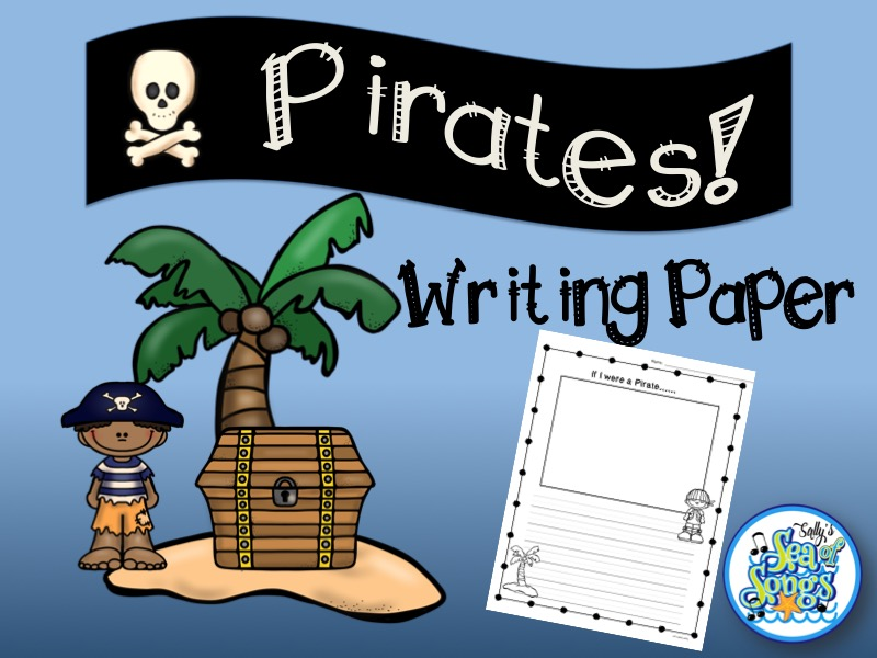 Pirates Writing Paper
