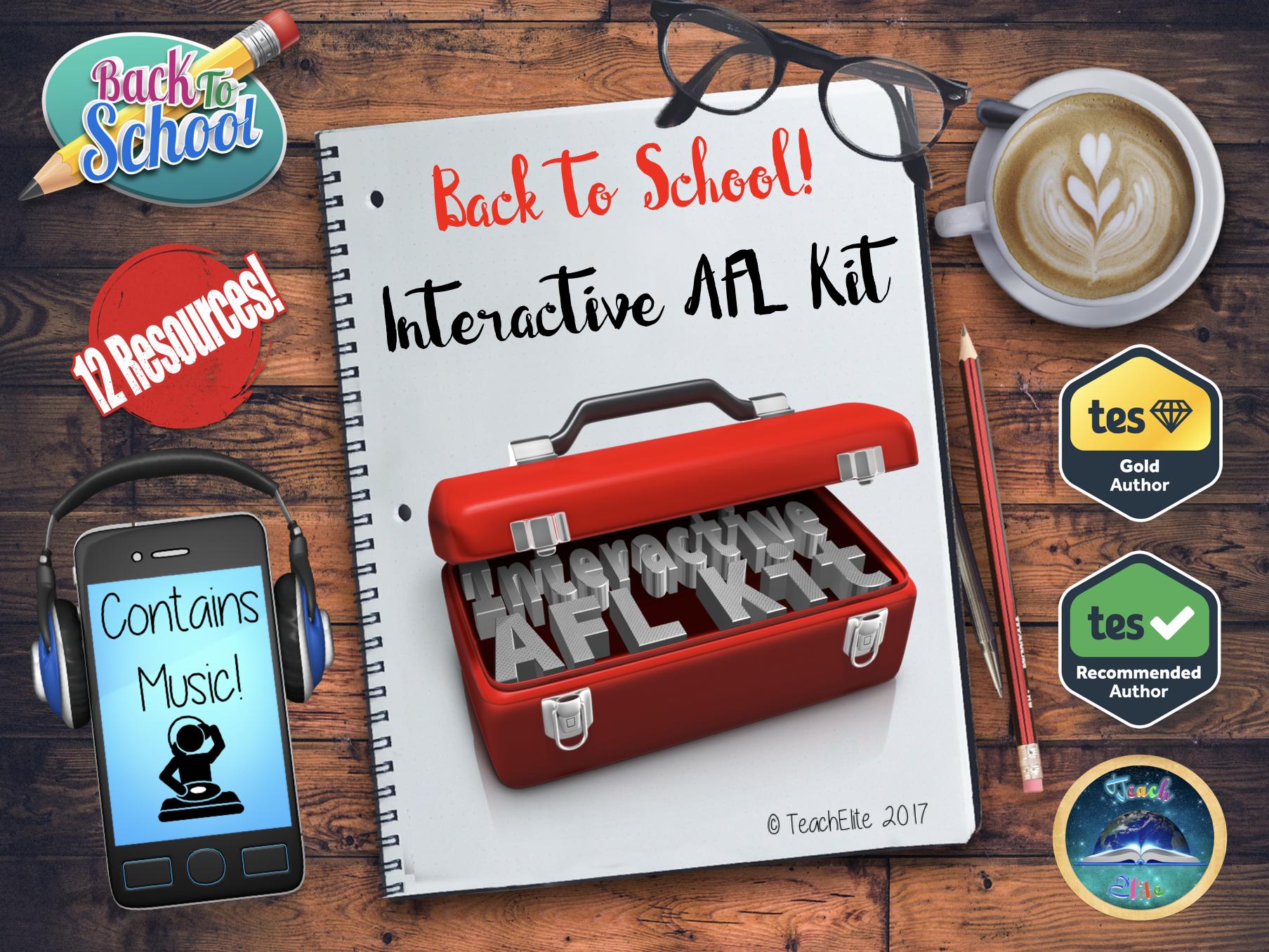 Back to school - Interactive AFL Kit Bundle