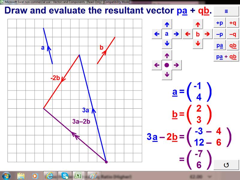 Vectors and Components