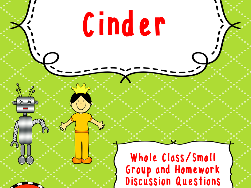 Cinder Discussion Questions and Answers