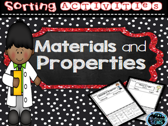 Materials and Properties Worksheets