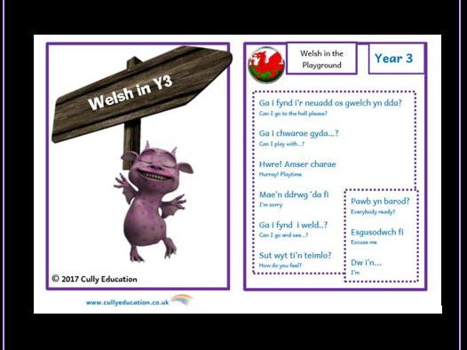 Welsh in the Classroom & at Home – Y3