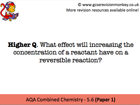 Revision Cards - AQA Separate Chemistry 5.8