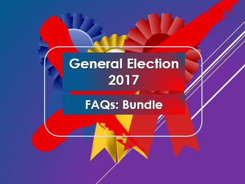 General Election 2017: FAQs Bundle