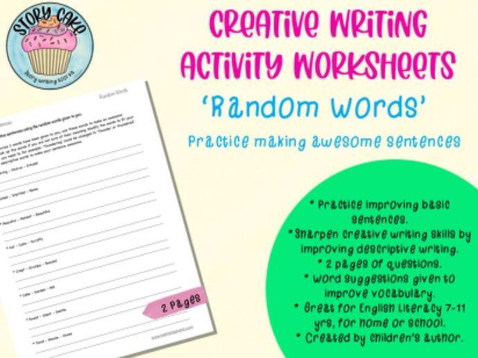 Awesome Sentences - 'Random Words' to create a sentence, descriptive, creative writing, improve