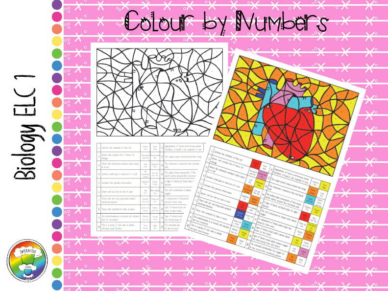 Biology Entry Level Certificate 1 Colour by numbers