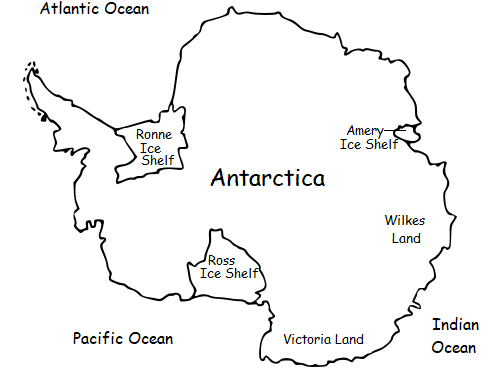 ANTARCTICA - Printable Introductory Worksheet