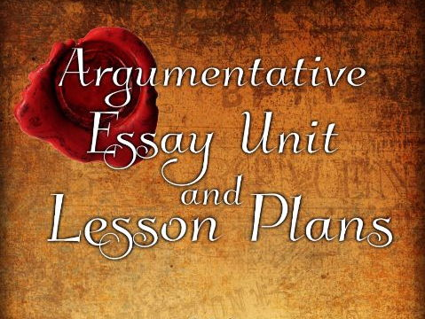 The Secret: Argumentative Essay TWO WEEK Unit + LESSON PLANS