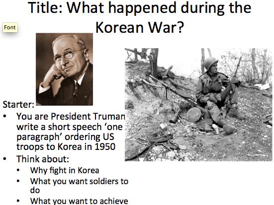 Cold War Containment Korea - Lesson 2