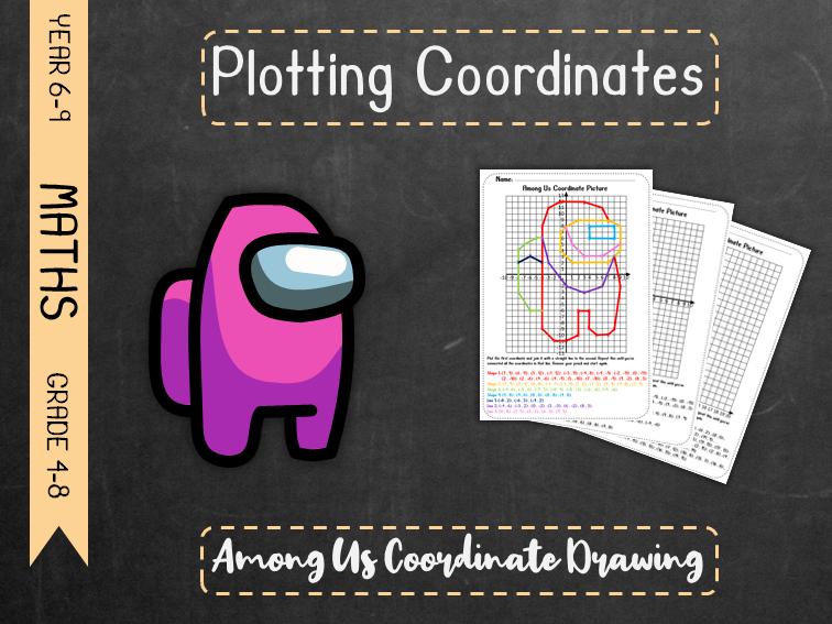 Plotting Coordinates - Among Us Coordinate Drawing