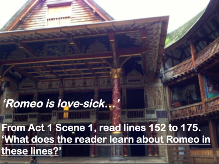 Romeo & Juliet - WJEC/Eduqas - Romeo and Benvolio - Act 1 Sc 1 - Extract Preparation