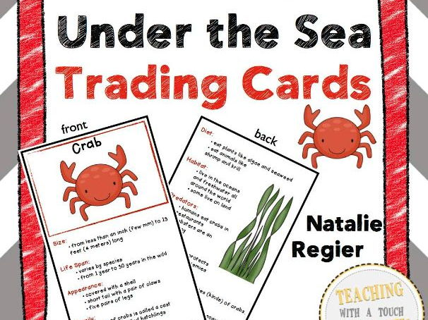 Under the Sea Trading Cards: Factual Information