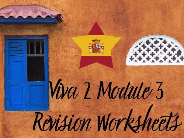 Spanish Viva 2 Module 3 Worksheets