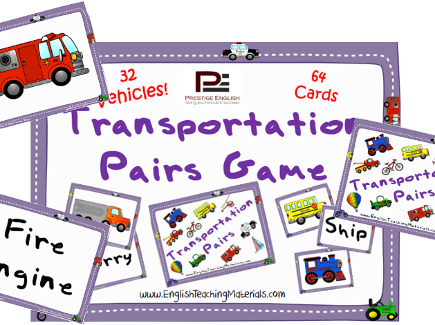 Transportation Pairs Game