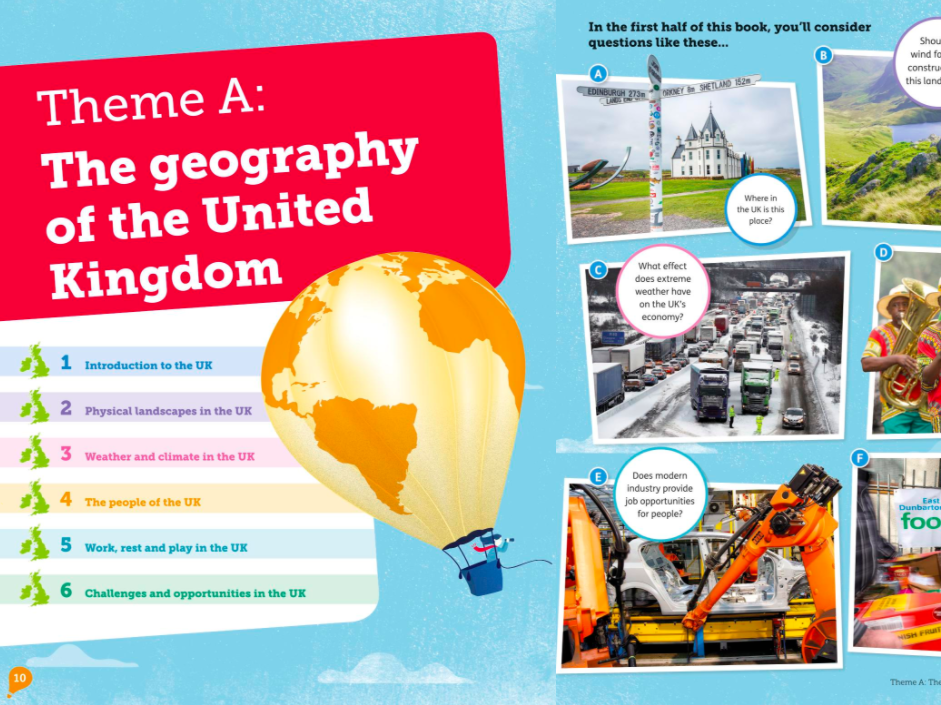 Introduction to the UK KS3 Geography  AQA