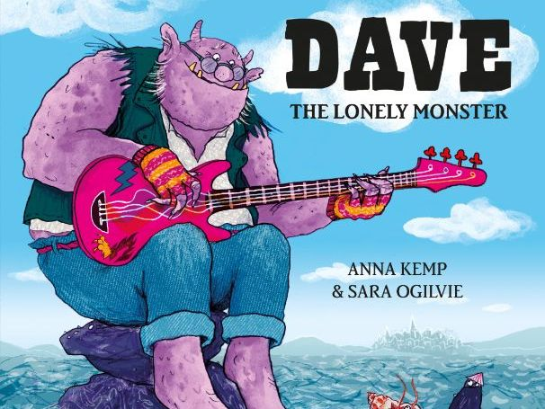 Dave the Lonely Monster - Anna Kemp & Sara Ogilvie - Activity Pack