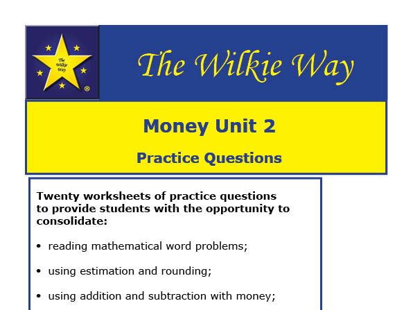 Solving Money Problems - Practice Questions (Y3)