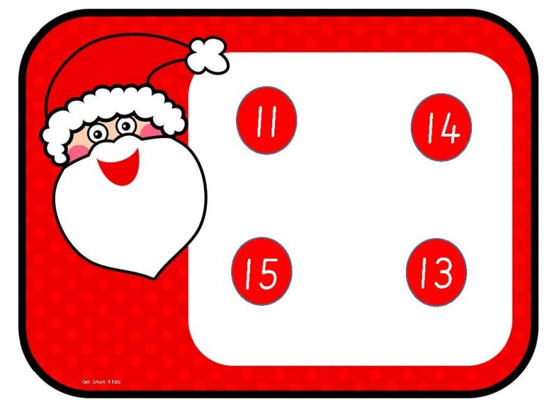 Christmas Number Recognition 11-20