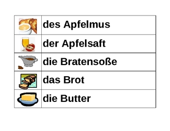 essen food in german word wall by jer520 teaching resources tes