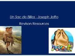 Characters of Un Sac de Billes - French A Level