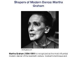 Big 4 of American Modern Dance Bundle