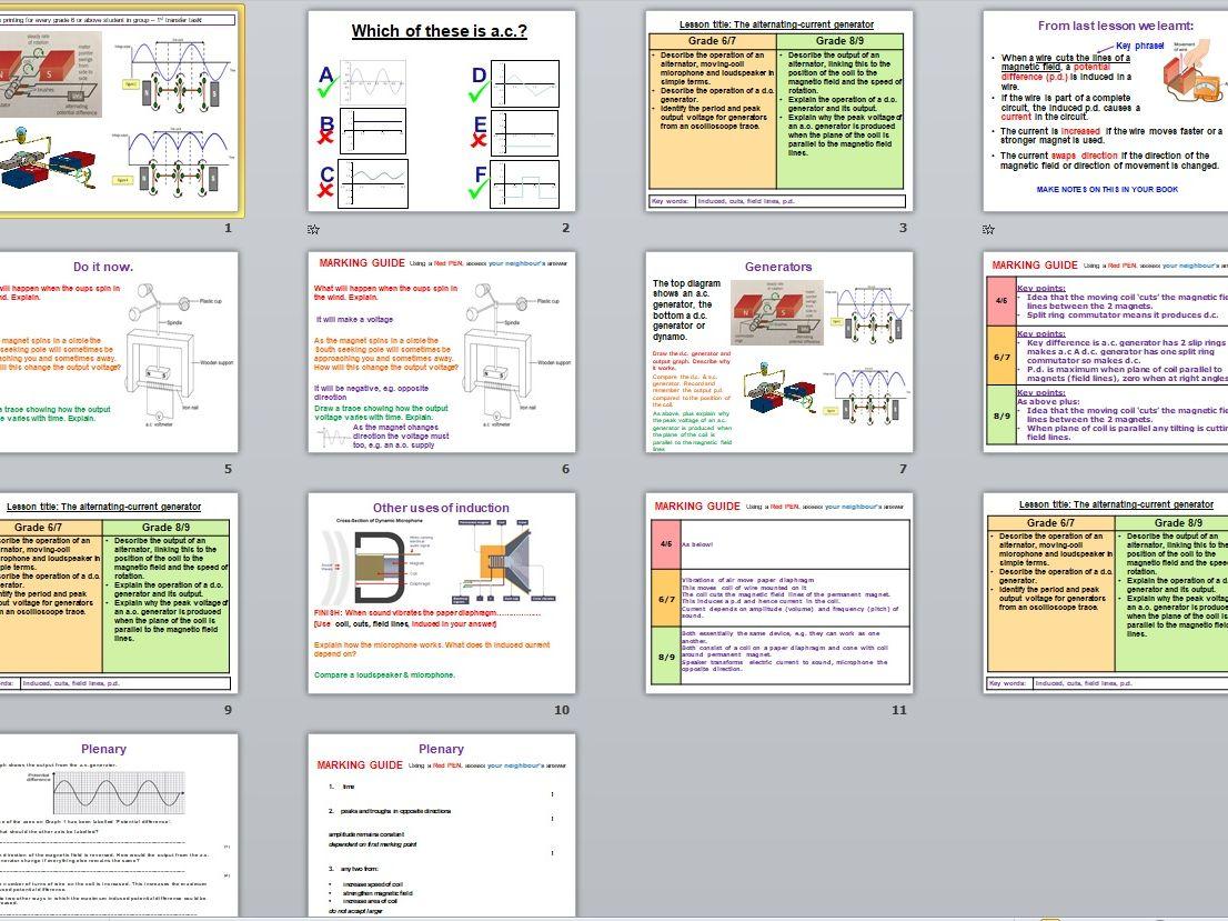 AQA GCSE Physics Paper 2 complete