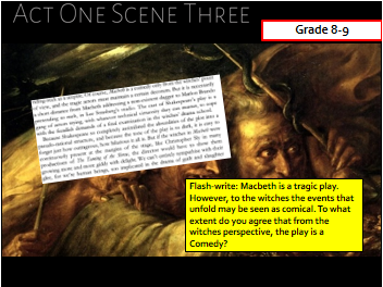 Macbeth [GRADE 7-9 TARGETTED] AQA GCSE LITERATURE