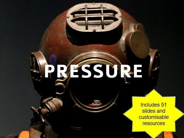 KS3 Physics (Year 9 Pressure and Moments) - Pressure in solids and fluids, upthrust, hydraulics